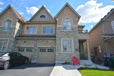 Townhouse for sale at 33 Faders Dr Brampton Ontario - MLS: W4920143