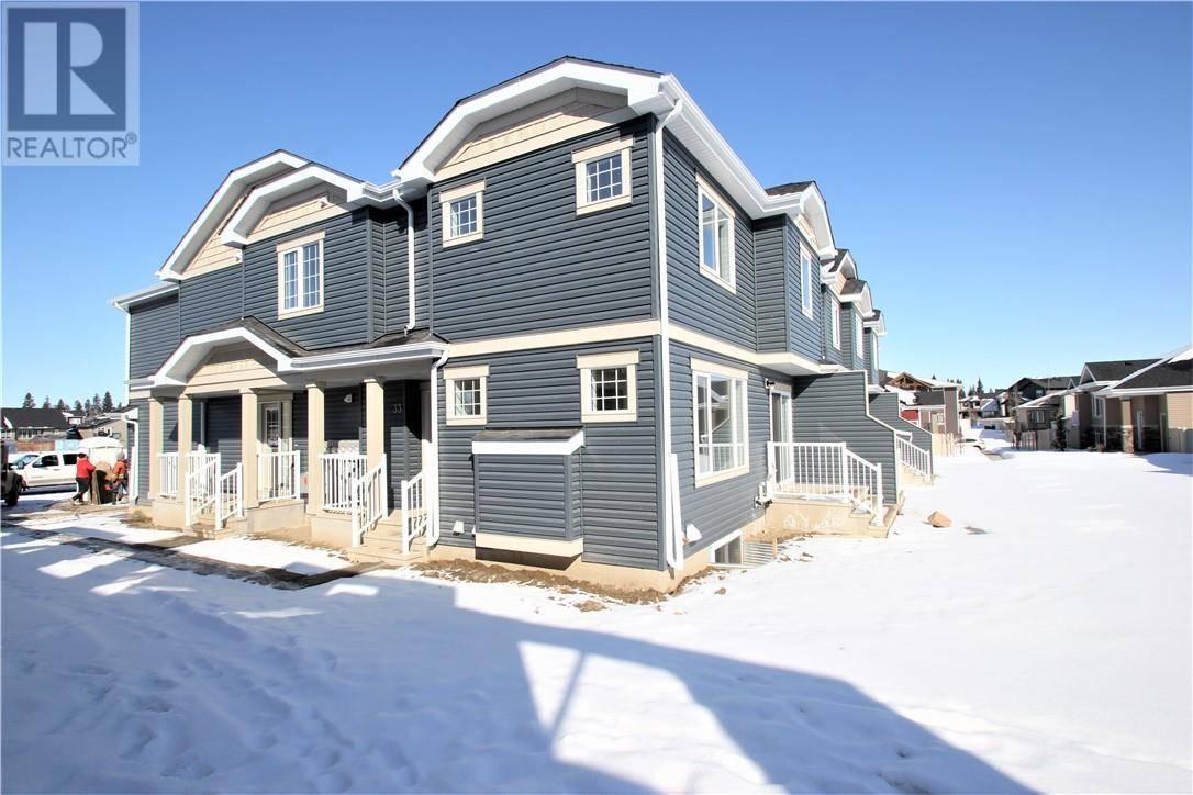 Townhouse for sale at 33 Gair Cs Red Deer Alberta - MLS: ca0191405