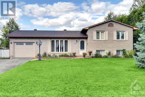 House for sale at 33 Lapointe Blvd Embrun Ontario - MLS: 1211214