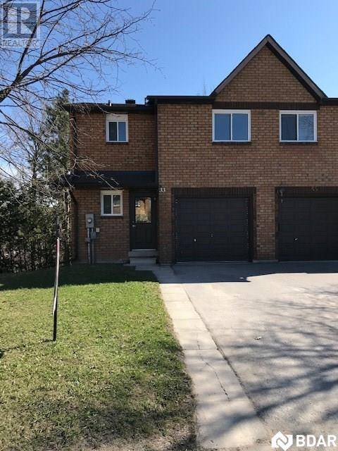 Townhouse for sale at 33 Loggers Run Barrie Ontario - MLS: 30804630