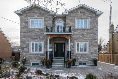 House for sale at 33 Melody Rd Toronto Ontario - MLS: W4341814