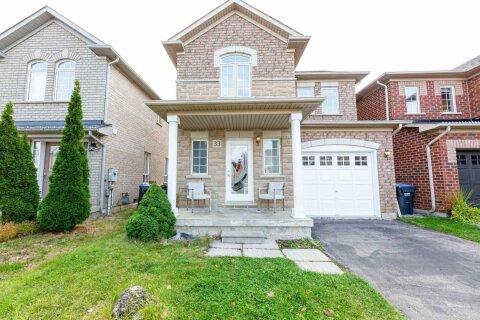 House for sale at 33 Penbridge Circ Brampton Ontario - MLS: W4982661