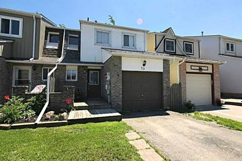 Townhouse for sale at 33 Robin Ct Barrie Ontario - MLS: S4496592