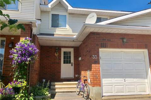 Townhouse for sale at 33 Sedona St Ottawa Ontario - MLS: 1161494