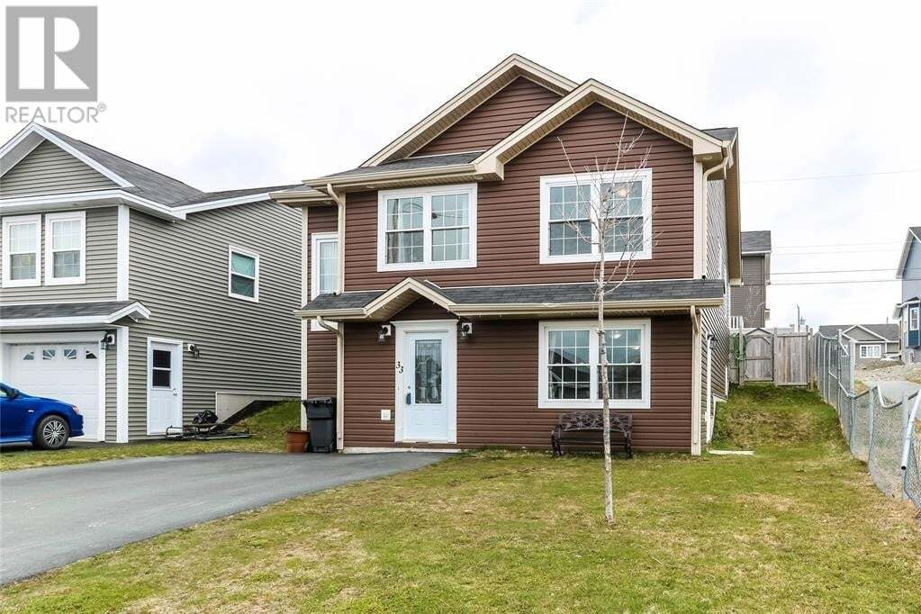 House for sale at 33 Simcoe Dr Mount Pearl Newfoundland - MLS: 1221774