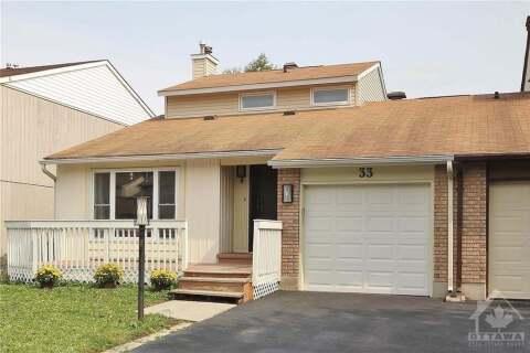 House for sale at 33 Tedwyn Dr Nepean Ontario - MLS: 1210731