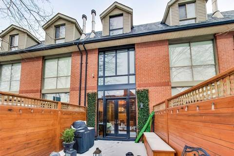 Townhouse for rent at 33 Wascana Ave Toronto Ontario - MLS: C4454524
