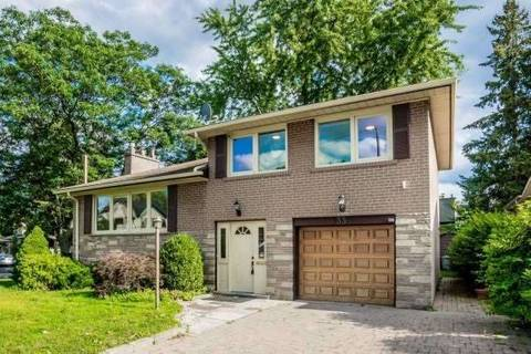 House for rent at 33 Whitelock Cres Toronto Ontario - MLS: C4736506