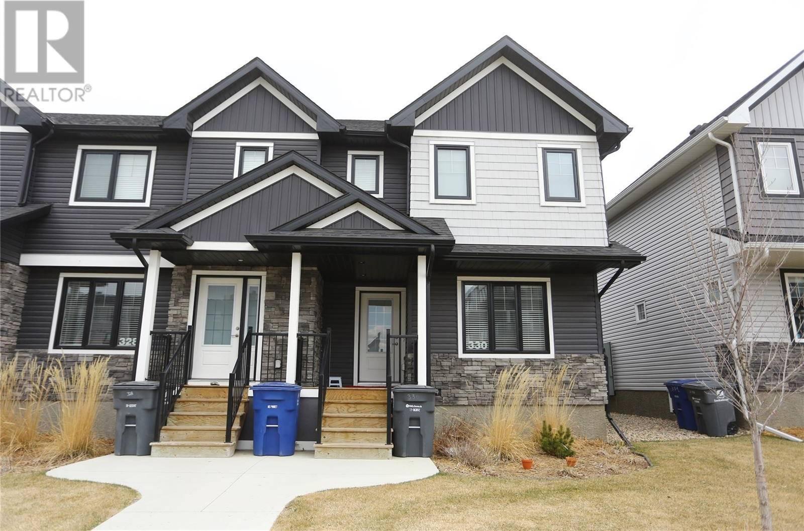 Townhouse for sale at 330 Maningas Bnd  Saskatoon Saskatchewan - MLS: SK770642