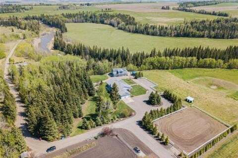 House for sale at 33077 Range Road 40  Rural Mountain View County Alberta - MLS: C4295636