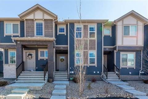 Townhouse for sale at 331 Hillcrest Dr Southwest Airdrie Alberta - MLS: C4237446