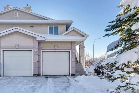 Townhouse for sale at 331 Sierra Morena Green Southwest Calgary Alberta - MLS: C4277734