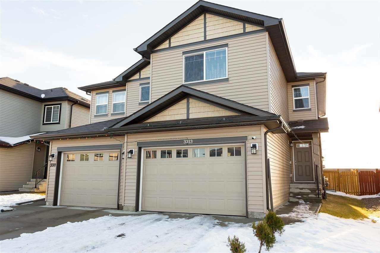 Townhouse for sale at 3313 11 Av NW Edmonton Alberta - MLS: E4223433