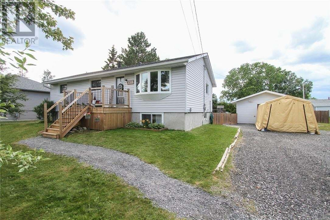 House for sale at 3318 Glendale Ct Val Caron Ontario - MLS: 2087233