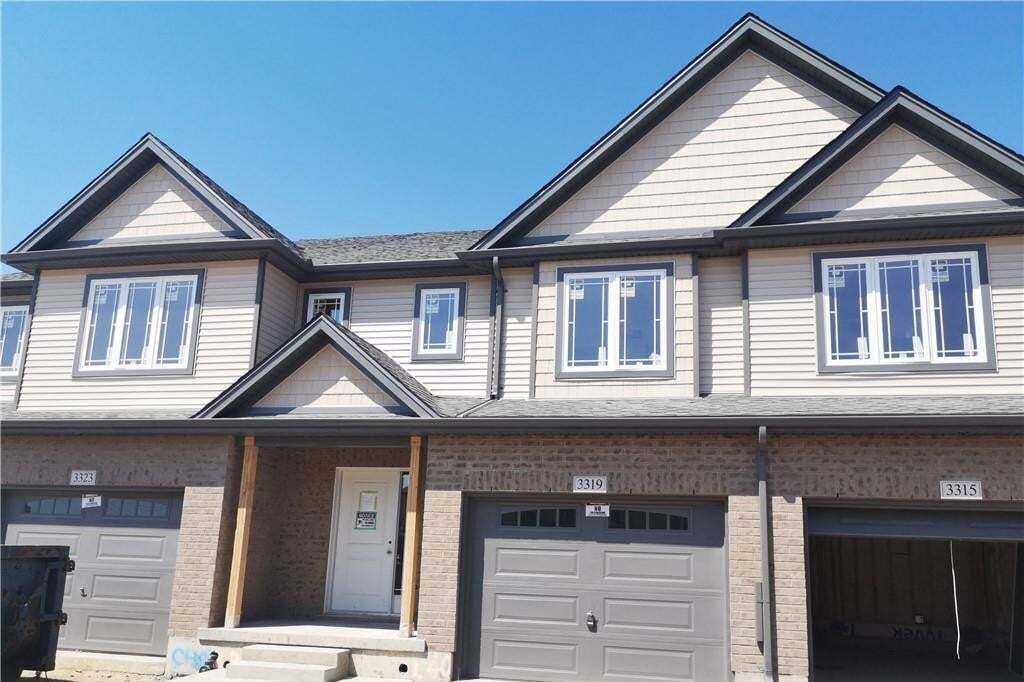 Townhouse for sale at 3319 Strawberry Wk London Ontario - MLS: H4077327