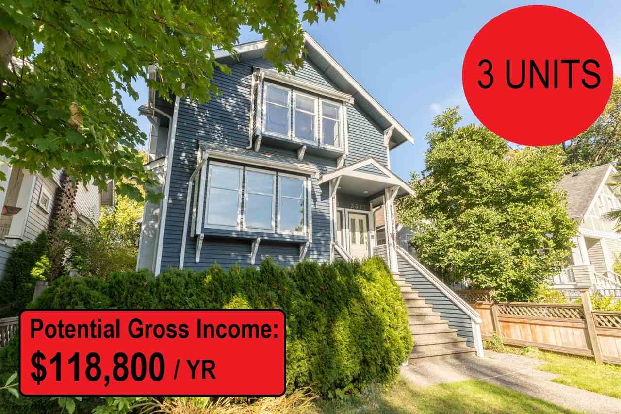 Removed: 3319 W 3rd Avenue, Vancouver, BC - Removed on 2018-01-14 04:09:08