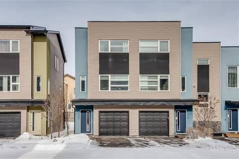 Townhouse for sale at 332 Covecreek Circ South Unit 332 Calgary Alberta - MLS: C4232574