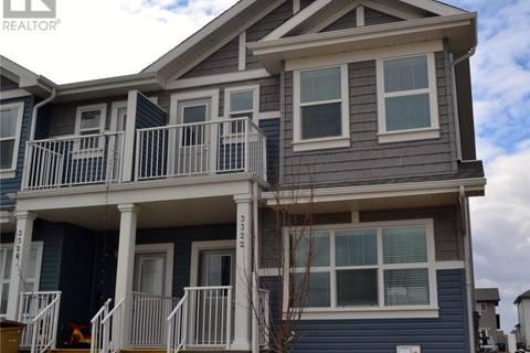 Townhouse for sale at 3322 Chuka Blvd E Regina Saskatchewan - MLS: SK763609