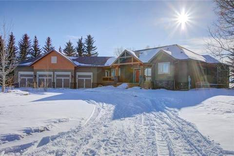 House for sale at 33255 Huggard Rd Rural Rocky View County Alberta - MLS: C4286510