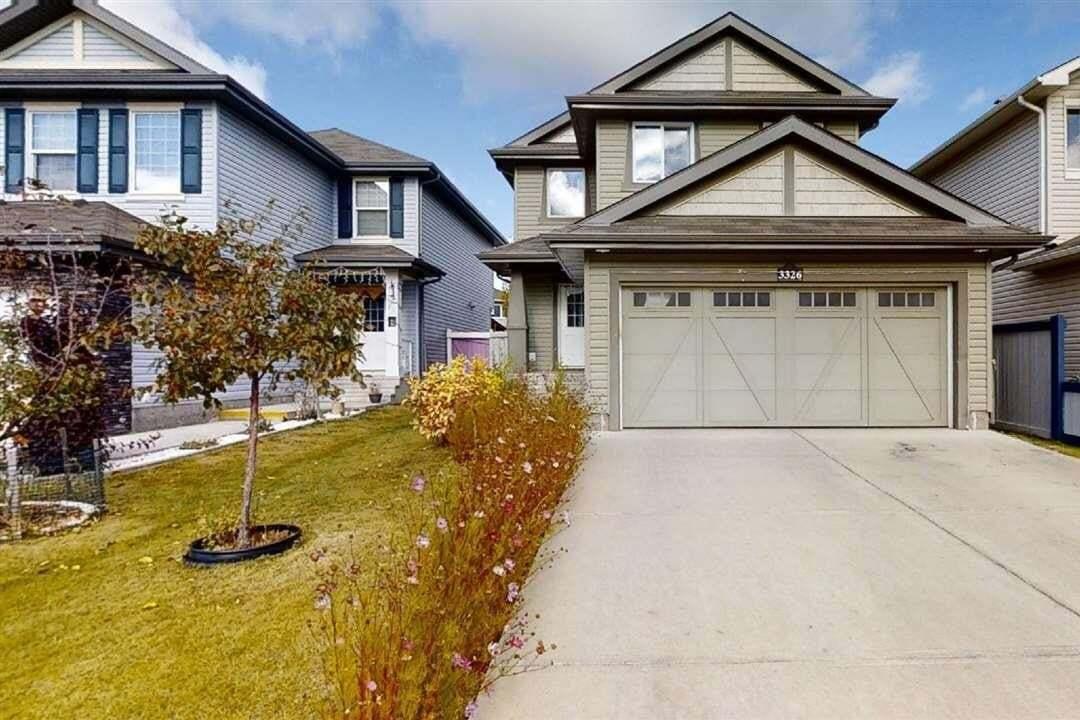 House for sale at 3326 18b Av NW Edmonton Alberta - MLS: E4218261