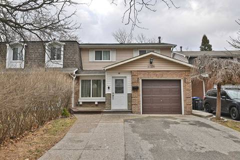 Townhouse for sale at 3328 Chokecherry Cres Mississauga Ontario - MLS: W4726568