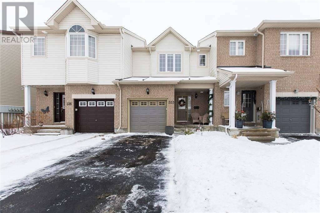 Townhouse for sale at 333 Brigitta St Stittsville Ontario - MLS: 1177933