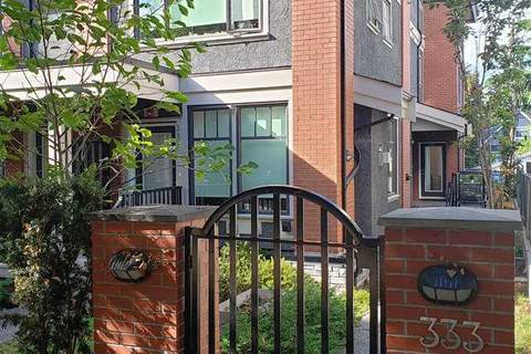 Townhouse for sale at 333 7 Ave E Vancouver British Columbia - MLS: R2399131
