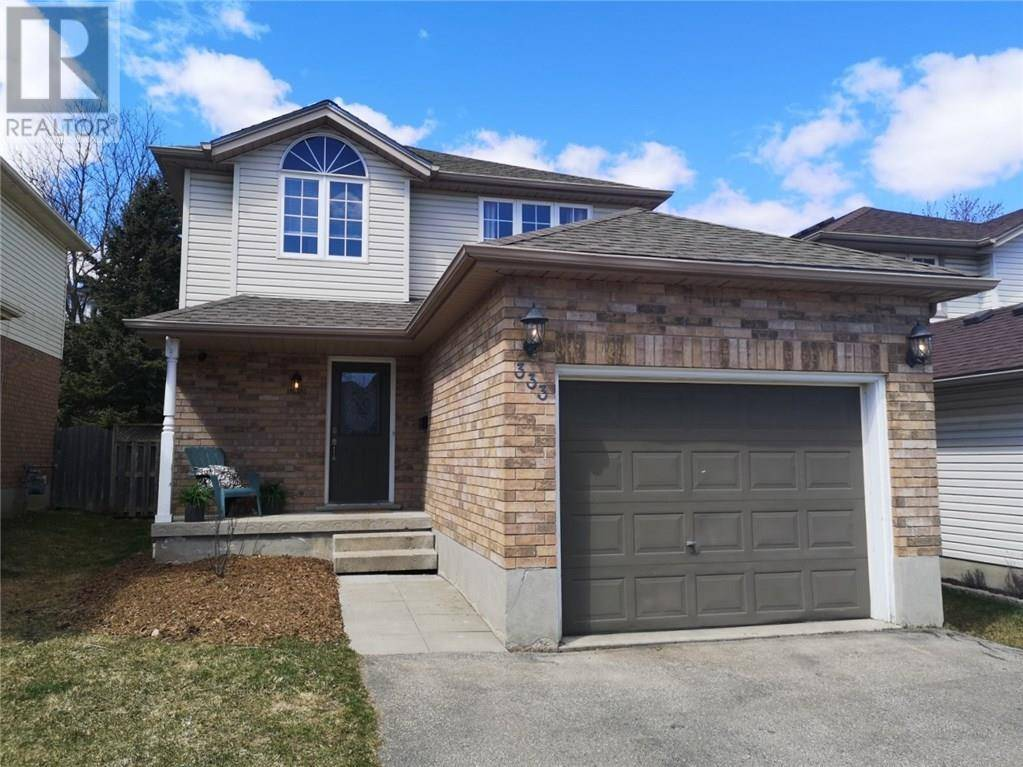 House for sale at 333 Rosette Dr Waterloo Ontario - MLS: 30799648
