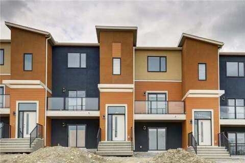 Townhouse for sale at 333 Sage Hill Circ Northwest Calgary Alberta - MLS: C4289657