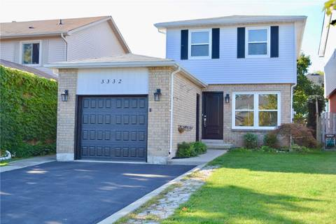 House for sale at 3332 Cardiff Cres Burlington Ontario - MLS: W4579765