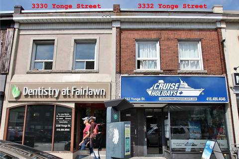 Commercial property for lease at 3332 Yonge St Toronto Ontario - MLS: C4631515