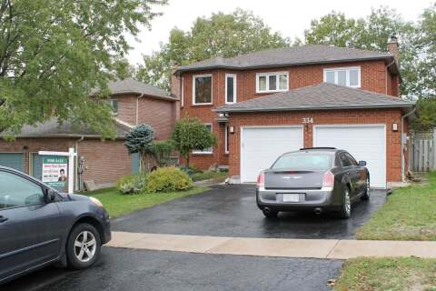 House for sale at 334 Leacock Dr Barrie Ontario - MLS: S4923446