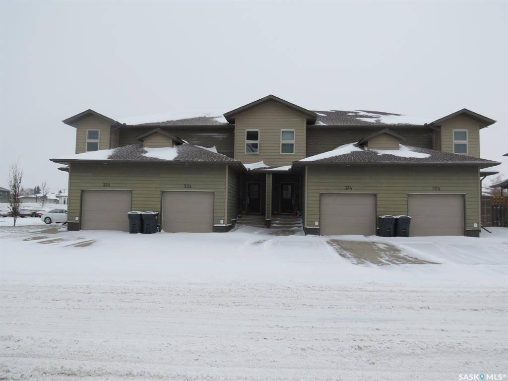 Townhouse for sale at 334 Morrison Dr Yorkton Saskatchewan - MLS: SK790969