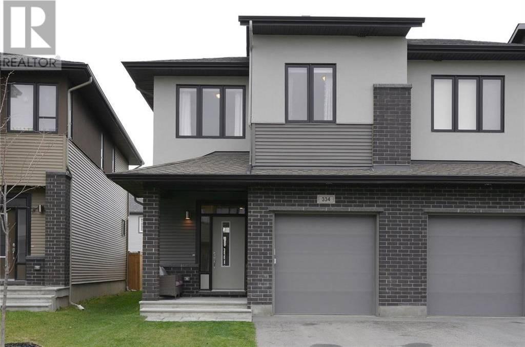 Townhouse for sale at 334 Nonius St Ottawa Ontario - MLS: 1174060