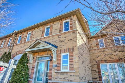 Townhouse for sale at 334 Rosegate Wy Oakville Ontario - MLS: W4712019