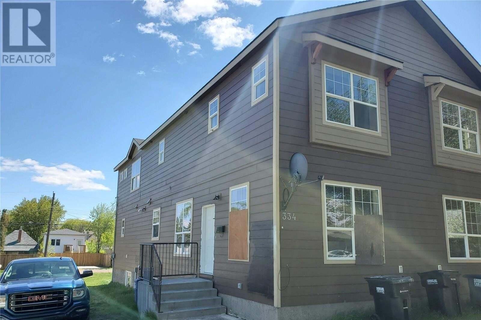 Townhouse for sale at 334 T Ave S Saskatoon Saskatchewan - MLS: SK809931