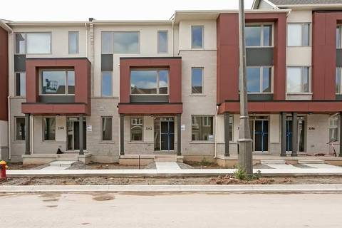 Townhouse for rent at 3342 Carding Mill Tr Oakville Ontario - MLS: W4577590