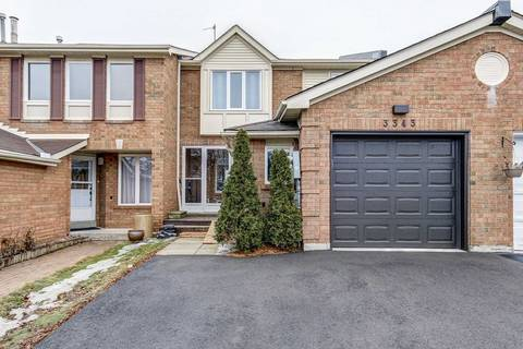 Townhouse for sale at 3343 Fenwick Cres Mississauga Ontario - MLS: W4389389