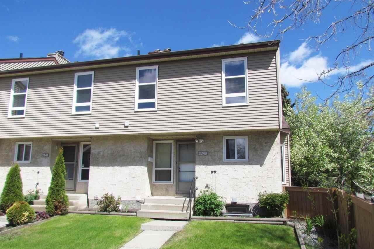 Townhouse for sale at 3346 116a Av NW Edmonton Alberta - MLS: E4198570
