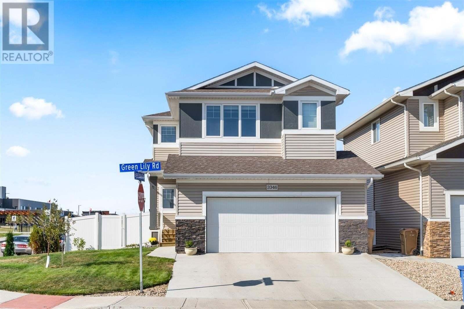 House for sale at 3346 Green Lily Rd Regina Saskatchewan - MLS: SK827501