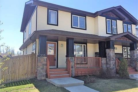 Townhouse for sale at 335 Secord Blvd Nw Edmonton Alberta - MLS: E4149846