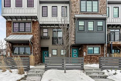 Townhouse for sale at 335 Walden Dr Southeast Calgary Alberta - MLS: C4287274