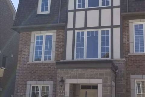 Townhouse for rent at 3350 Carding Mill Tr Oakville Ontario - MLS: W4605992