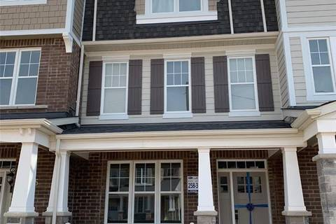 Townhouse for rent at 3353 Vardon Wy Oakville Ontario - MLS: H4053781