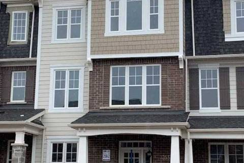 Townhouse for sale at 3355 Vardon Wy Oakville Ontario - MLS: W4422764
