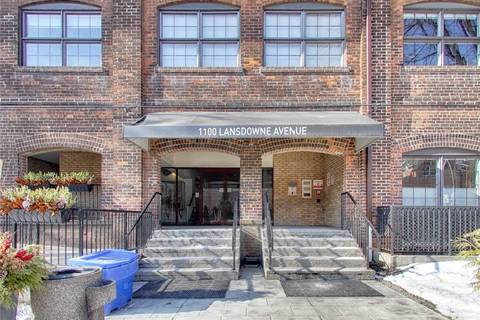 Apartment for rent at 1100 Lansdowne Ave Unit 336 Toronto Ontario - MLS: W4693384