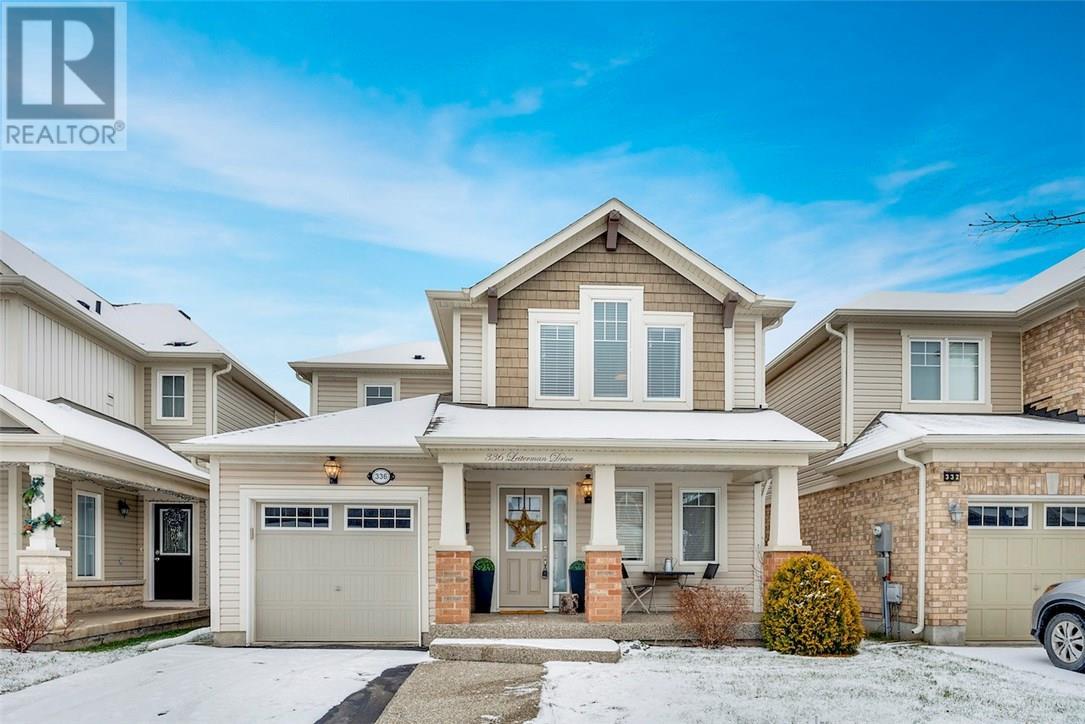 House for sale at 336 Leiterman Drive Milton Ontario - MLS: W4332874