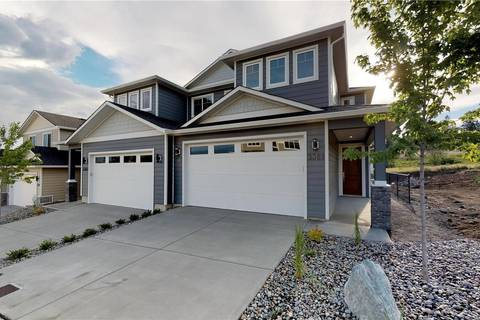 Townhouse for sale at 3367 Hawks Cres West Kelowna British Columbia - MLS: 10185289