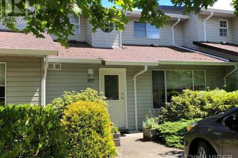 Townhouse for sale at 680 Murrelet Dr Unit 337 Comox British Columbia - MLS: 457066