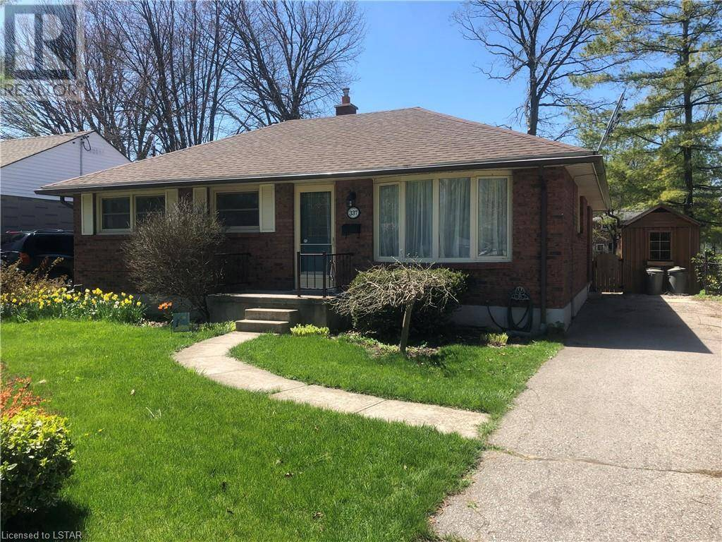 House for sale at 337 Beachwood Ave London Ontario - MLS: 257039